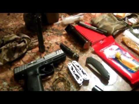 shtf kit scavenger marauder urban survival kit (видео)