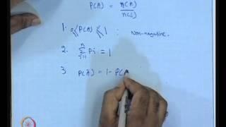 Mod-01 Lec-06 Probability