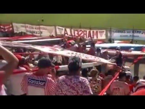 la HINCHADA  de los andes ! - La Banda Descontrolada - Los Andes