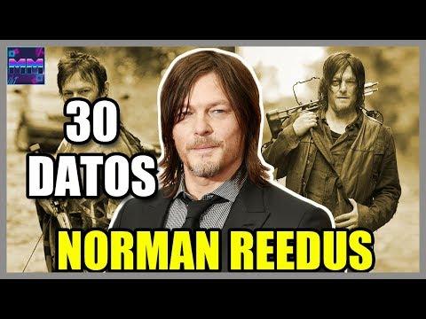"30 Curiosidades sobre ""Norman Reedus"" - (Daryl Dixon - The Walking Dead) - |Master Movies|"