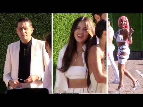 G-Eazy, Eiza Gonzalez, Nikita Dragun And More Attend The Revolve 4th Of July Bash
