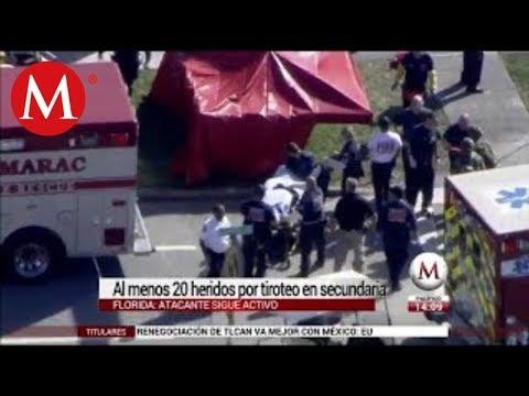 Detienen a sospechoso de tiroteo en escuela de Florida