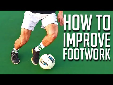 How to Improve Your Footwork in 4 Minutes - Soccer Tutorial
