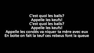 La fouine Ft. M.A.S, Alonzo et Sultan - Drogba (Capital Du Crime3) + lyrics