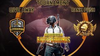 PUBG Mobile Pakistan/India - Custom Room - UC GiveAway - Tournaments - Live Gaming