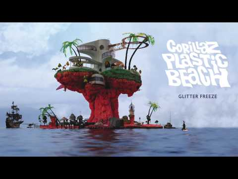 Gorillaz - Glitter Freeze - Plastic Beach