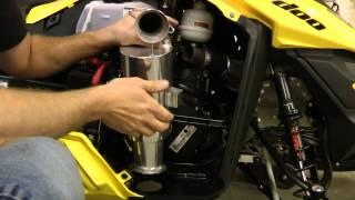 7. HPS Ski-Doo E-Tec Silencer (CAN) install