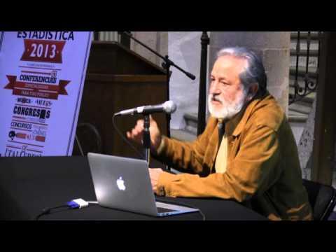 """Conferencia """"Las estadísticas del trabajo"""", por el Dr. Gilberto Calvillo"""