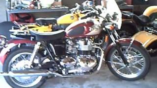 4. 2008 Triumph Bonneville T100