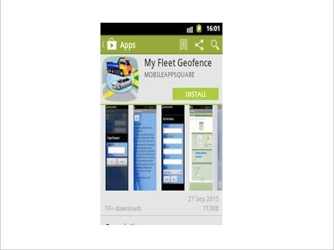 Video of My Fleet Geofence