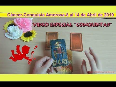Cartas de amor - Cáncer- Conquista Amorosa- 8 al 14 de abril de 2019