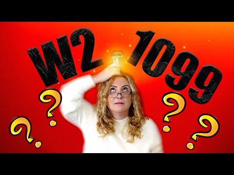 Работа в США - что лучше 1099 или W2?