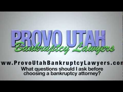 Provo Bankruptcy Lawyer helps you choose an attorney - Provo Bankruptcy Lawyer