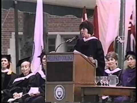 She was the girl to impress at Wellesley—and we were all in awe. Lynn Sherr on her friend Nora Ephron.