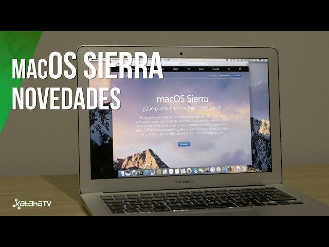 Así es MacOS Sierra