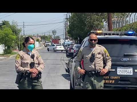 RCA was shoved by LA sheriff deputy for filming a police vehicle