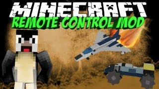 RC MOD: Minecraft Remote Control Mod Showcase! Submarines, Speed Boat, Helicopters!