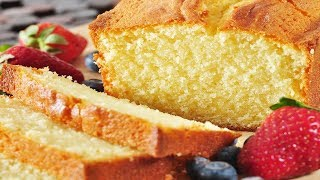 Pound Cake Recipe Demonstration - Joyofbaking.com