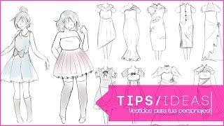 Video ►TIPS & IDEAS: Distintos tipos de Vestidos para tus personajes MP3, 3GP, MP4, WEBM, AVI, FLV Januari 2019