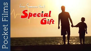 SPECIAL GIFT is an emotional story of a Father and Son. Father struggles hard to find a donor for his Son suffering from acute Kidney problems. Based on a true rare Kidney transplant conducted at Kasturba Hospital, Manipal.Subscribe to our channels for a new short film every day - http://goo.gl/lPLIYClick Here to Watch New Releases - http://bit.ly/newreleasesfilmsWatch our TV Show Prime Talkies with PocketFilms on #NDTV Prime every Thursday @ 9 pm (ist)Visit www.pocketfilms.in to know more about us and our activities including films, #contests, updates, etc.Cast & Crew:Director: Kling JohnsonMusic / Sound: Giridhar DivanEditor: Giridhar DivanCinematographer: Giridhar DivanActors: Bhasker Manipal, Master Sohan Democracy, Raghu Pandeshwar, Sandeep KumarFor Latest Updates Follow Us on Social PlatformsFollow Us on ►►►►►►►FB - https://www.facebook.com/PocketFilmsInTwitter - http://twitter.com/pocketfilmsinG+ - https://plus.google.com/+PocketFilmsPocket Films' Network Channels  ►►►►►►►Dekh Bhai Dekh - http://bit.ly/dekhbhaidekhLittle Kids Channel - http://bit.ly/LittlekidschannelAre you a film maker? Want to showcase your film / documentary and also generate income? Contact us at -  info@pocketfilms.in
