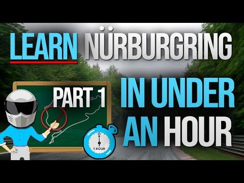 PART 1: Learn The Nürburgring Nordschleife In Under An Hour!