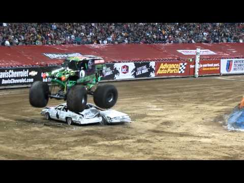 moster - winner grave digger in freestyle in houston texas jan 8 2011.