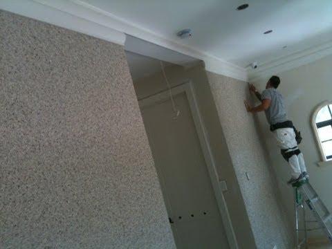 trum tower wallpaper installation