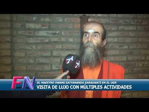 Swami Satyananda Saraswati, entrevistado en Rosario (Argentina)