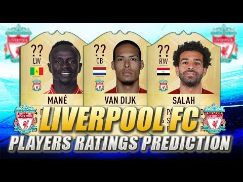 FIFA 20 | LIVERPOOL FC PLAYERS RATINGS PREDICTION | W/ Van Dijk, Salah & Mane