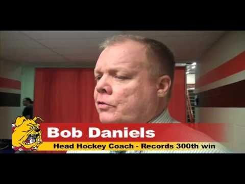 Bob Daniels 300th Win - BGSU 1/7/11