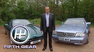 Jaguar XK8 & Mercedes SL   Fifth Gear Classic by Fifth Gear