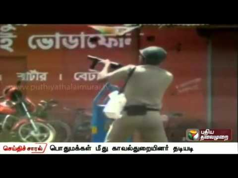 Police-batons-on-people-in-West-Bengal