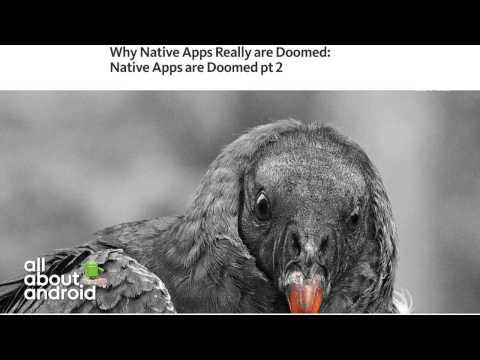 Native Apps vs. Progressive Web Apps (видео)
