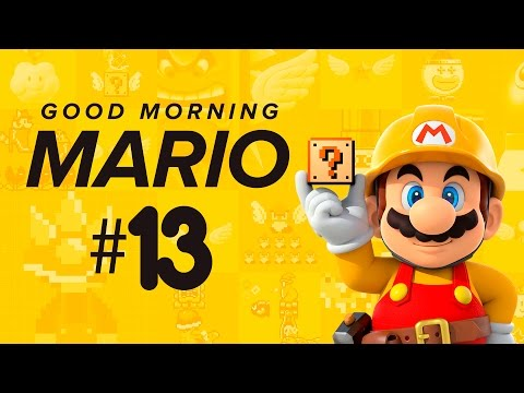 Good Morning Mario #13 [Super Mario Maker] (видео)