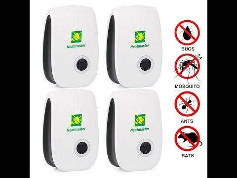 Neatmaster Ultrasonic Electronic Pest Repeller