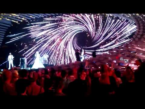 Eurovision 2015 Semi Final 1 Russia Polina Gagarina - A million Voice Live (видео)