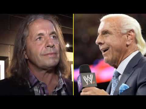 WRESTLING SHOOT| Bret Hart on His Problems With Ric Flair