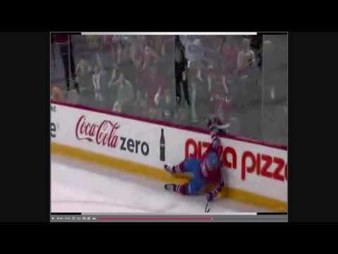 NHL Best Goal + Falling On The Floor! [ 13/10/2010 ...