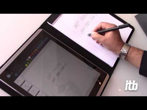 HP's Duet of paper and digital with Pro Slate 12