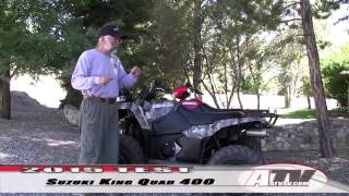 4. Test 2015 Quad Suzuki King Quad 400