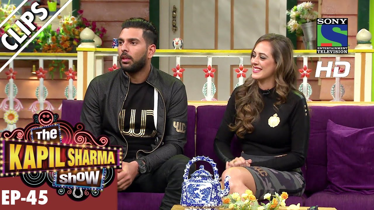 Yuvraj Singh and his fiance Hazel Keech – The Kapil Sharma Show – Ep.45 -24th September 2016