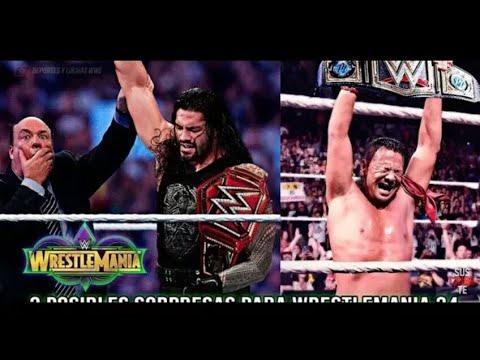 WWE Wrestlemania 34 08/04/2018 Results & Predictions - WWE Wrestlemania 2018 Results & Predictions
