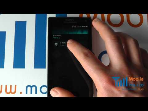 how to set mp3 as ringtone on xperia j