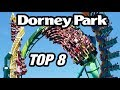 Top 8 Roller Coasters at Dorney Park!