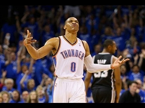 Video: Russell Westbrook's Deep Bomb Beats the Halftime Buzzer