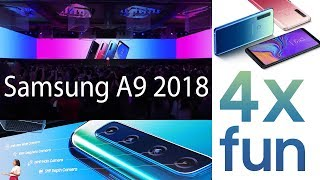 Samsung Galaxy Event Live - 4x fun- SAMSUNG A9 2018