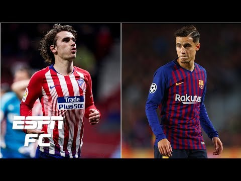 Could PSG land Antoine Griezmann and Philippe Coutinho this summer? | Transfer Rater