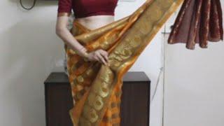 XxX Hot Indian SeX How To Wear South Indian Saree Simple Saree Draping Method Tutoril .3gp mp4 Tamil Video