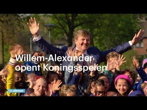 Willem-Alexander opent Koningsspelen: 'Veel plezier!' - RTL NIEUWS