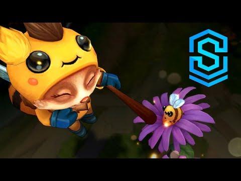 Hé lộ hình ảnh và animation, hiệu ứng cho skin mới của Teemo (Beemo) thumbnail